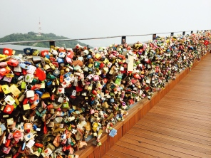 Love Locks in N Seoul Tower